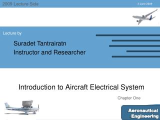 Introduction to Aircraft Electrical System