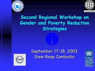 Second Regional Workshop on Gender and Poverty Reduction Strategies