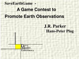 SaveEarthGame  -  A Game Contest to  Promote Earth Observations