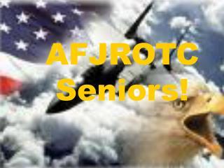 AFJROTC Seniors