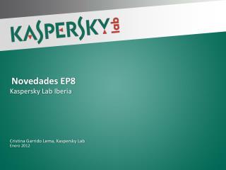 Novedades  EP8
