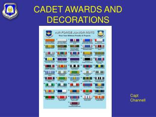 CADET AWARDS AND DECORATIONS