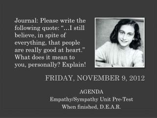 Friday, November 9, 2012