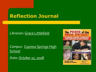 Reflection Journal