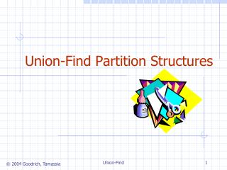 Union-Find Partition Structures