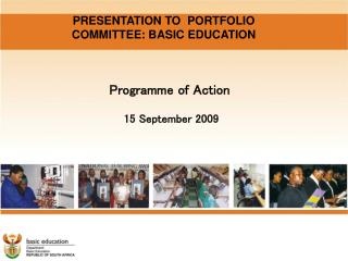 Programme of Action     15 September 2009