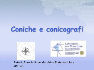 Coniche e conicografi
