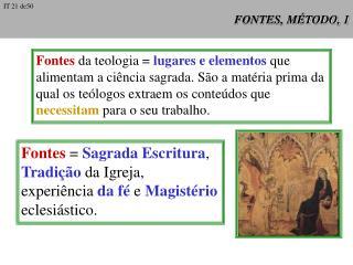 FONTES, MÉTODO, 1