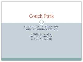 Couch Park