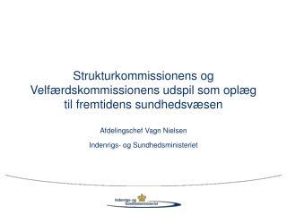 Strukturkommissionens og Velfærdskommissionens udspil som oplæg til fremtidens sundhedsvæsen