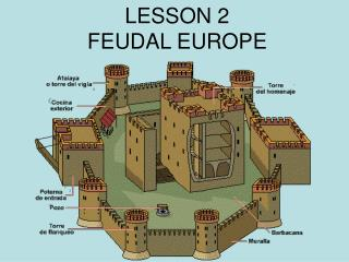 LESSON 2 FEUDAL EUROPE