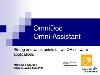 OmniDoc Omni-Assistant