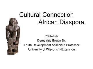 Cultural Connection  African Diaspora