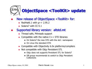 ObjectSpace <ToolKit> update