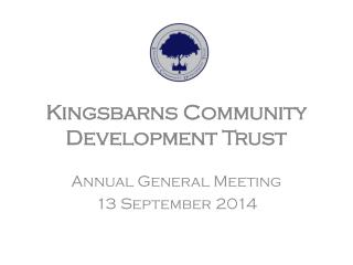 Kingsbarns  Community Development Trust