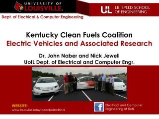Kentucky Clean Fuels Coalition Electric Vehicles and Associated Research