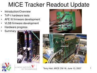 MICE Tracker Readout Update