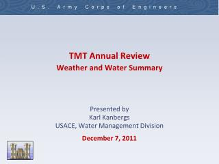 TMT Annual Review