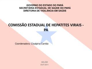 COMISSÃO ESTADUAL DE HEPATITES VIRAIS -PA