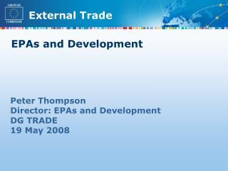 EPAs and Development