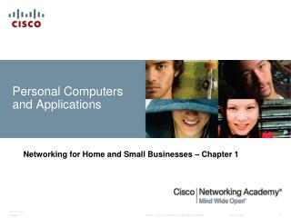Personal Computers and Applications