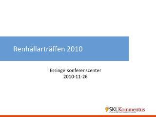 Renh�llartr�ffen 2010