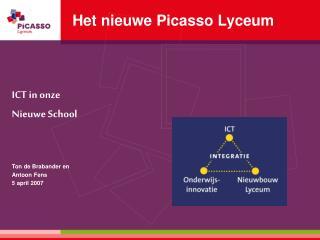 Het nieuwe Picasso Lyceum
