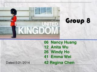 06  Nancy Huang 12  Anita Wu 26  Windy Ho 41   Emma  Wei 42 Regina Chen