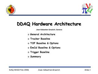 DDAQ Hardware Architecture