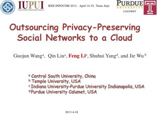 Outsourcing Privacy-Preserving Social Networks to a Cloud