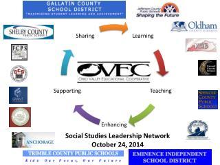 Social Studies Leadership Network October 24, 2014