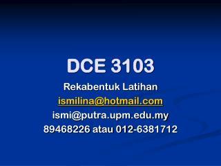 DCE 3103