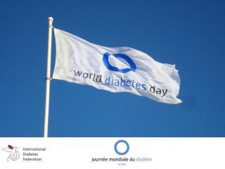 1991 Première  Journée Mondiale  du Diabète