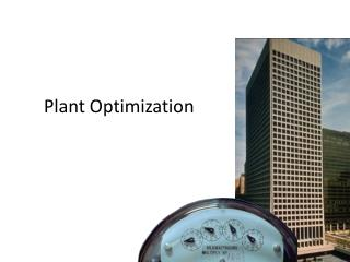 Plant Optimization