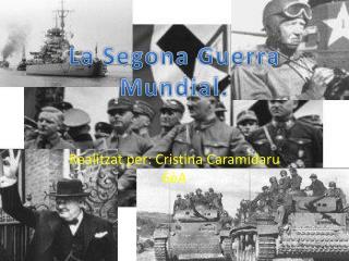 Realitzat per: Cristina Caramidaru 6èA