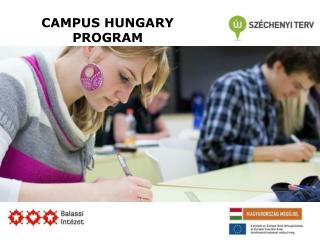 CAMPUS HUNGARY PROGRAM