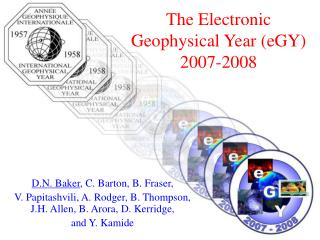 The Electronic Geophysical Year (eGY) 2007-2008