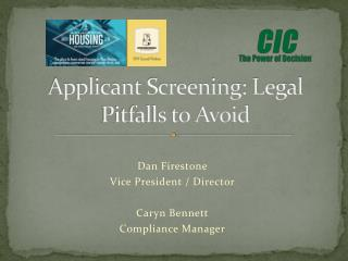 Applicant Screening: Legal Pitfalls to Avoid