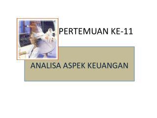 PERTEMUAN  KE-11