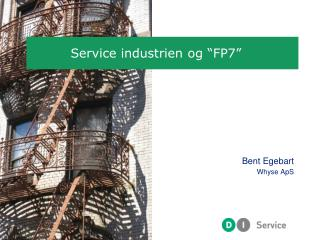 """Service industrien og """"FP7"""""""