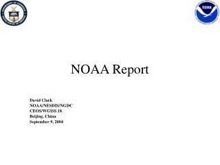 NOAA Report