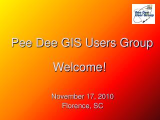 Pee Dee GIS Users Group