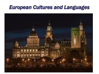 European Cultures and Languages