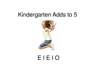 Kindergarten Adds to 5