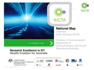 National Map Overview Keith Grochow, NICTA