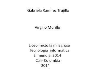 Gabriela Ramírez Trujillo