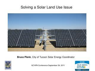 Solving a Solar Land Use Issue