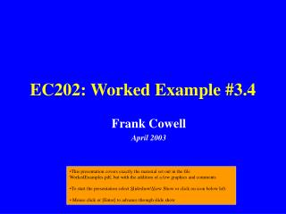EC202: Worked Example #3.4