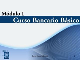 Curso Bancario Básico