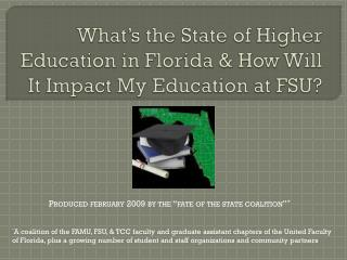 What's the State of Higher Education in Florida & How Will It Impact My Education at FSU?